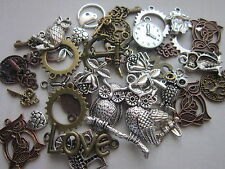 antique tibetan silver copper bronze pendants charms mix steampunk sale 80 gr uk