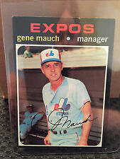 1971 Topps # 59 Gene Mauch ****... EX-MT+ ***..  EXPOS ... RB-4108