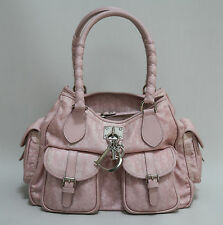 CHRISTIAN DIOR SHOULDER BAG PINK JACQUARD DIORISSIMO LOVELY
