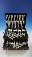 LOUIS XIV BY TOWLE STERLING SILVER FLATWARE SET FOR 12 SERVICE 146 PCS HUGE
