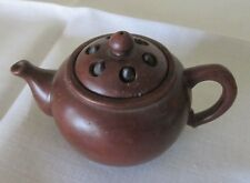 CHINESE YIXING TEAPOT LOTUS SEED POD LID SIGNED