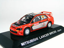 1:64 Mitsubishi LANCER WRC05 #10 Panizzi 2005 Japan Diecast car CM's JAPAN