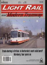 LIGHT RAIL AND MODERN TRAMWAY MAGAZINE - July 1994 - Vol. 57 - No. 679