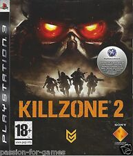 KILLZONE 2 for Playstation 3 PS3 - with box & manual