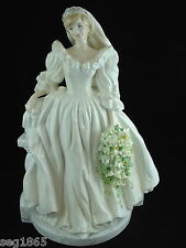 COALPORT SIGNATURE ED. ROYAL BRIDE FIGURINE  DIANA PRINCESS OF WALES 436 / 5000