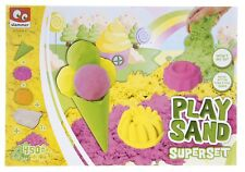 NEW CHILDRENS SAND ART PLAY SAND SUPERSET ACTIVITY ICE CREAM SAND PIT PLAYSET