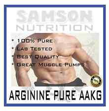 AAKG PURE ARGININE 500g L-ARGININE PREMIUM QUALITY BEST VALUE SAMSON NUTRITION