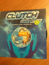 "12"" MIX CLUTCH FEAT. STEFY KEEP THE WORLD CAT. LUP 047 VG-/G+ ITALY PS 2000 BXX"