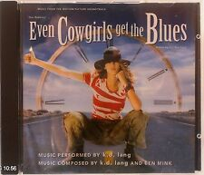 k.d. lang - Even Cowgirls Get the Blues (Original Soundtrack) (CD 1993)