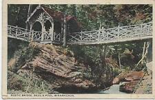 1913 Rustic Bridge Devil's Pool Wisshickon Philadelphia Pa