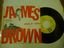 "JAMES BROWN""ONLY YOU/TILL THEN-disco 45 giri DURIUM Italy 1965"" FUNKY"