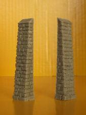 Piloni di sostegno per muro scala HO-1:87-Krea