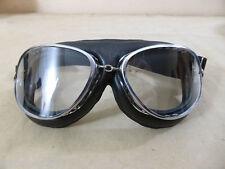 Gr.L - Kradmelder Kradbrille Fliegerbrille Motorradbrille Oldtimer Brille LUXUS