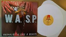 W.A.S.P-Animal (F**k Like a beast) *MINT* French Import WHITE Vinyl Record LP