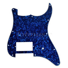 Single Humbucker Pickguard for Fender Strat Guitar Replacement Blue Pearl 3ply