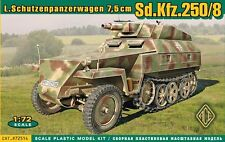 Ace 1/72 Model Kit 72514 German Sd.Kfz.250/8 Stummel
