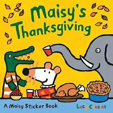 Maisy's Thanksgiving Sticker Book, Cousins, Lucy, Acceptable Book