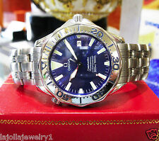 Ladies OMEGA Seamaster Steel 300m Jacques Mayol 1996 Limited Edition Quartz