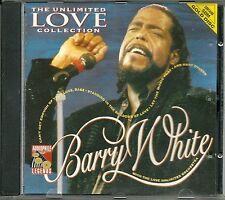 White, Barry The Unlimited Love Collection SBM Gold CD Audiophile L Erstpressung