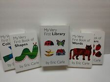 Lot Board Books:Eric Carle Boxed Set:My very first library:Colors;shape;words