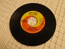THE RUBIN MITCHELL TRIO  DON'T FORGET 127TH STREET/ALRIGHT OK YOU WIN CAPITOL