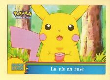 "POKEMON Carte TOPPS OR5 "" LA VIE EN ROSE """
