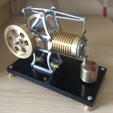 New Fire Eater Engine Model Powerful Hot Air Stirling Engine Flame Eater Engine