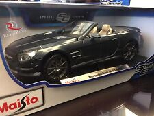 Maisto 1:18 Diecast Model Car - Mercedes-Benz SL 65 AMG (Gray)
