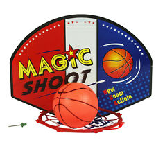 Mini Basketball Backboard Net Hoop Ball Goal Kids Mount Wall Door Sporting