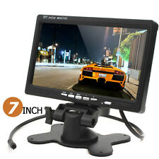 800 x 480 7 Inch Color LCD Screen HD Car Rear View Monitor with HDMI + VGA