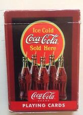 """RARE """"Ice Cold Coca-Cola Sold Here"""" Playing Cards COMPLETE SET"""