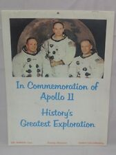 Commemoration Apollo 11 1970 Calender (M1822)