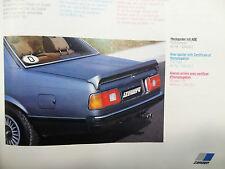 ZENDER BMW E23 GENUINE REAR BOOT TRUNK SPOILER LIP. 7 SERIES 728 730 732 733 745