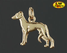 Pendentif Chien Lévrier WHIPPET / GREYHOUND - Or Massif 750/1000 (18Carats)