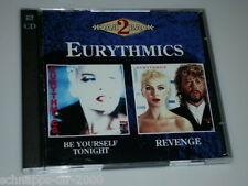 EURYTHMICS 2BACK DOPPEL CD BE YOURSELF TONIGHT & REVENGE MIT MIRACLE OF LOVE