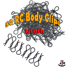 50 RC BODY CLIPS PINS For 1/10 SCALE Boat Buggy Car Truck Crawler Short Course
