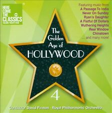 Golden Age Of Hollywood, Vol. 4, CD 2013 Brand New