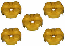 Missing Lego Brick 4032 Yellow x 5 Plate 2 x 2 Round