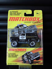Matchbox Lesney Edition 1989 Chevy Blazer Police