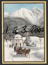 808Q)  Ansichtskarte  Künstler  AK  Weihnachten  Winterkarte aus Tirol