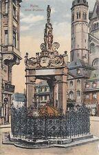 Postkarte - Mainz / Alter Brunnen