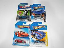 Hot wheels 63 Covert-Mazda RX-7-Ferrari F430-Spin King Mixed Lot All New