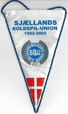 SJAELLANDS REGIONAL FOOTBALL ASSOCIATION DENMARK OFFICIAL SMALL PENNANT OLD