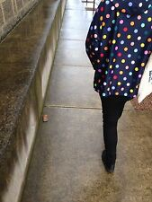 "Cutest GORMAN ""Polka dot"" raincoat coat jacket * One size fits all"