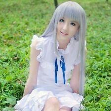 Anohana Flower We Saw That Day Meiko Menma Honma Long Cosplay Full Wig