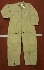 New USAF RAF Aircrew Coverall Flyers Size 48 R Nomex Kevlar