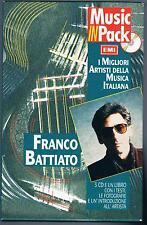 FRANCO BATTIATO FISIOGNOMICA/L'ERA DEL CINGHIALE. MUSIC IN PACK BOX 3 CD BOOKLET