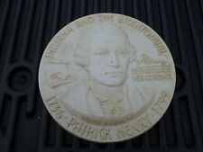 MASTER PLASTER CAST INDIANA BICENTENNIAL COMMEMORATIVE CHARLES WARNER WILLIAMS
