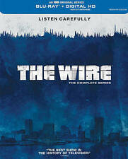 The Wire Complete Series(Blu-ray+Digital HD,20 Disc,Seasons 1-5)NEW US Set