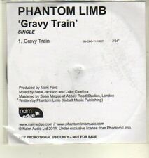 (CW368) Phantom Limb, Gravy Train - 2011 DJ CD
